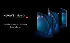 华为 5G 折叠屏手机 Mate X 最快将于本月底在国内开卖