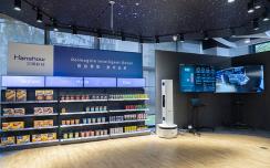 科沃斯商用和汉朔科技举行战略合作签约仪式 发布SPatrol商用零售机器人