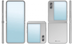 华为翻盖折叠屏手机专利曝光,全新设计与Mate X大不同
