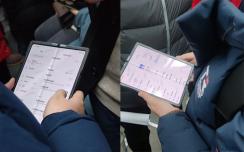 小米折叠屏手机谍照出现 大屏尺寸折痕明显