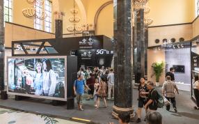 上海科博会 2019   5G商用在即 联通展示多场景应用