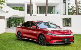 比亚迪汉正式上市:共推出4款车型 起售价21.98万元