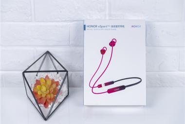 荣耀xSport Pro运动蓝牙耳机图赏:时尚配色与运动造型的完美融合