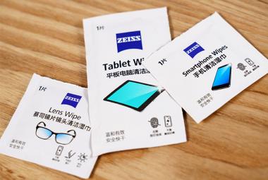 看完这几个试验测试你还敢随意擦拭你的眼镜、手机吗?