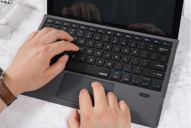 雷柏XK200蓝牙键盘评测:Surface Pro的性价比搭档