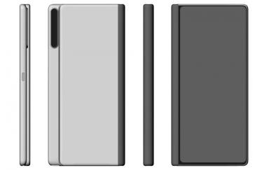 华为Mate X 2外观设计专利曝光:采用内折叠方式