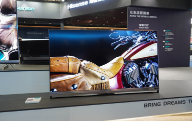 UDE 2019   比肩OLED展现高画质 全球首款叠屏电视海信U9技惊四座