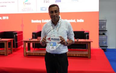CEI2019 | 专访印度Croma高级经理Das先生:中国品牌进入印度会带来更多机遇