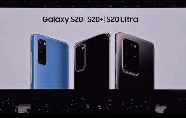 机皇再次降临:三星正式发布Galaxy S20系列手机