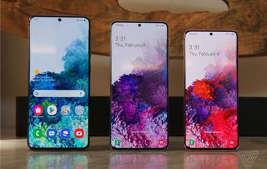 国行三星Galaxy S20系列手机曝光:顶配破万