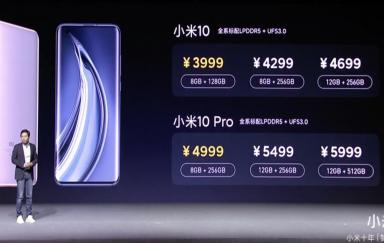 打破价格的桎梏 售价5999元的小米10 Pro能否站稳高端旗舰市场?