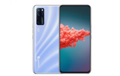 首款屏下摄像头手机中兴 Axon 20 5G流光海盐新款配色正式上市