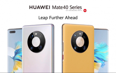 凝聚科技精华,搭载最强麒麟9000处理器:华为推出Mate 40系列手机