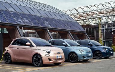 菲亚特500 Electric 3+1官图发布:定位微型车 续航可达320公里