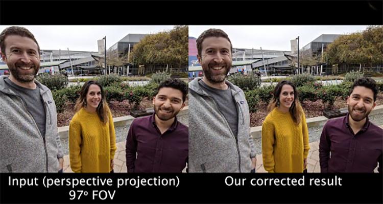 解决手机前置图像畸变问题 谷歌成功开发防脸部失真算法