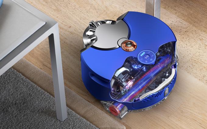 戴森发布新一代智能除尘机器人:体积小巧 吸力强劲