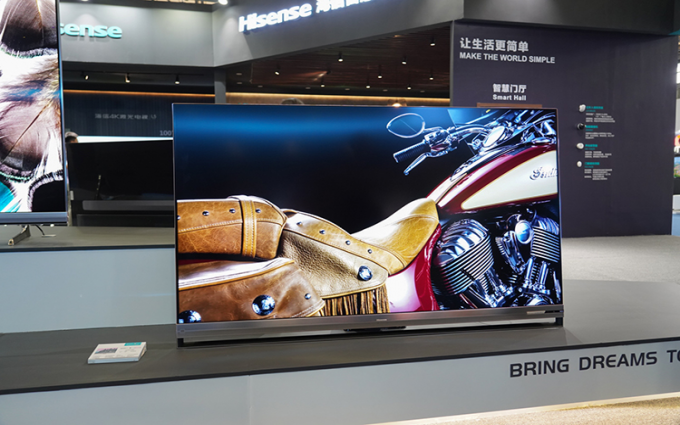 UDE 2019 | 比肩OLED展现高画质 全球首款叠屏电视海信U9技惊四座