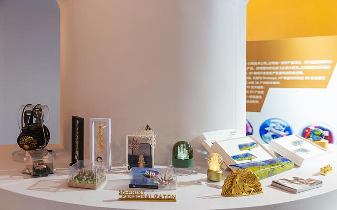 上海科博会2019 | Lesu 3D带来众多高精度3D打印物件 精致图案展现科技魅力