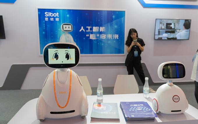 上海科博会 2019 | 思依暄机器人将人工智能带入千家万户