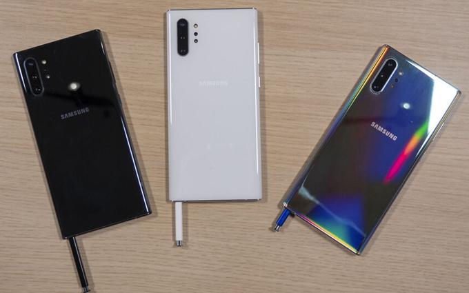 三星Galaxy Note10+手机屏幕荣获A+等级:打破13项记录