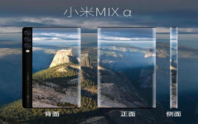 小米MIX Alpha手机渲染图曝光:正反都是屏幕