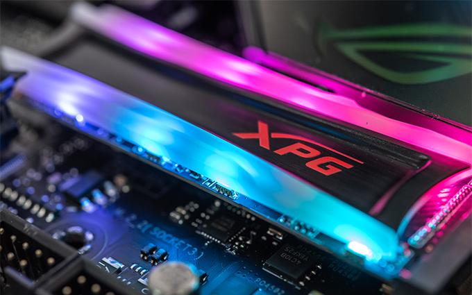 让RGB全副武装你的电脑 威刚XPG龙耀S40G RGB M.2固态硬盘评测