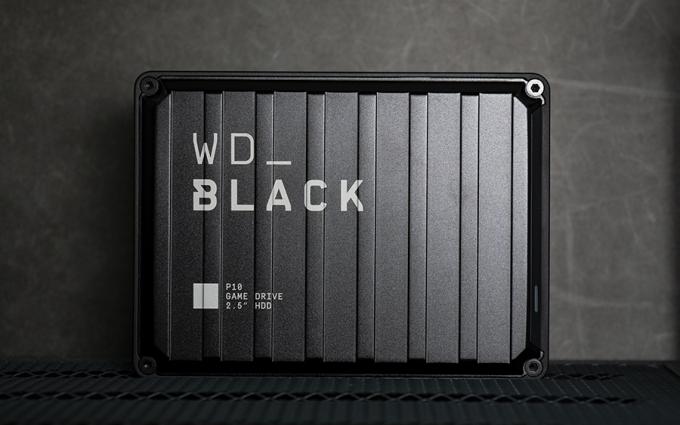 西部数据WD_BLACK P10 图赏:定位游戏玩家 带来高端存储体验
