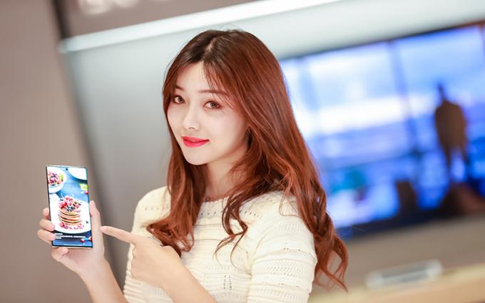 到三星上海新形象旗舰店 感受Galaxy Note10系列的前沿科技魅力