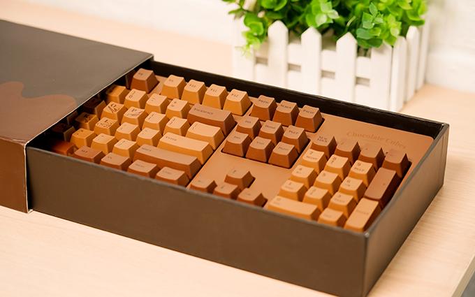黑爵巧克力键盘:巧克力的设计带来巧克力式的惊喜