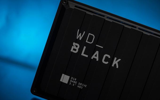 西部数据WD_BLACK D10 图赏:大容量存储也要有高颜值
