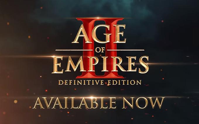 4K超高清重置游戏《帝国时代2:决定版》今日正式上架 售价99元