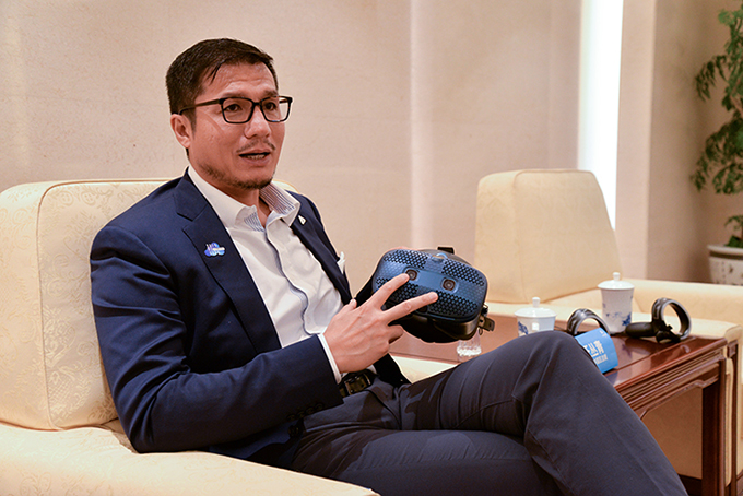专访HTC中国区总裁汪丛青:注重用户体验 5G时代VR大有可为