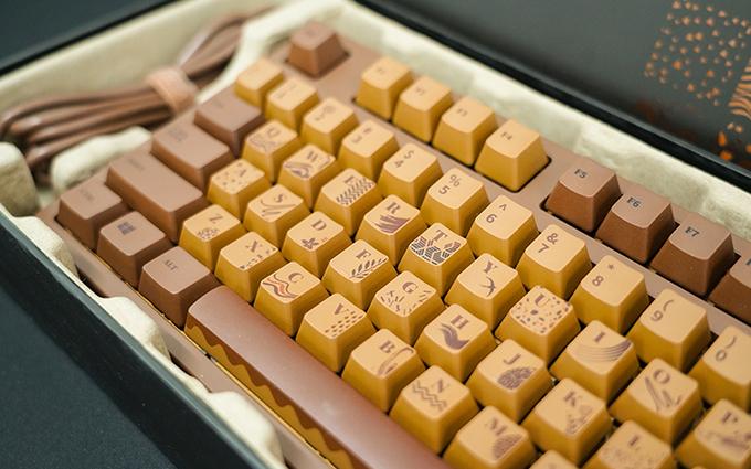 黑爵巧克力键盘图赏:这一盒巧克力味道咋样