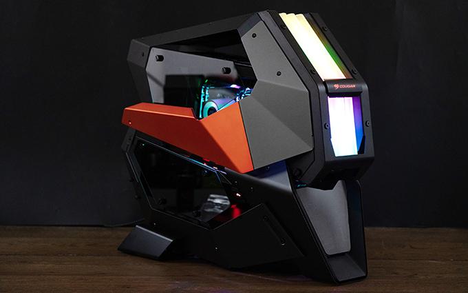 这是你能购买到最为疯狂炫酷的机箱 骨伽CONQUER 2机箱测评