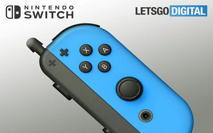 任天堂Switch触控笔新专利曝光 可连接Joy-Con手柄操作使用