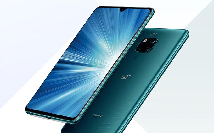 华为5G手机全球热卖 截至12月底累计发货达690万台