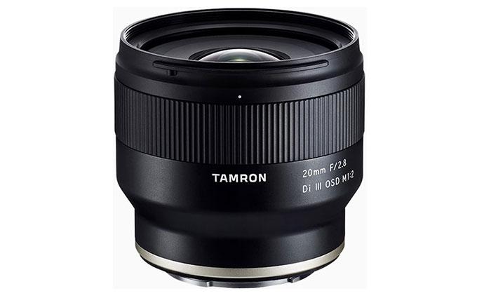 腾龙20mm F/2.8微距镜头发售 价格与35微、24微持平