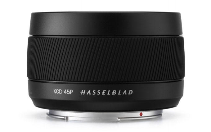 哈苏新中画幅镜头XCD 45mm f/4发布 定价8999元
