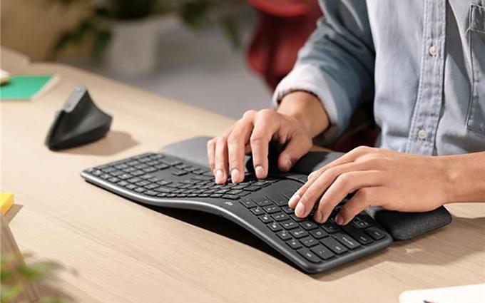 微软不再孤单 罗技发布人体工学键盘Ergo K860