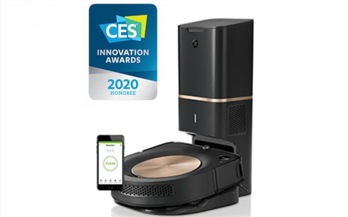 """实力的证明 iRobot 扫地机器人再获CES 2020""""创新奖"""""""