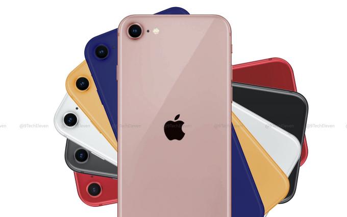 据传iPhone 9将有6种颜色,深蓝配色机身引人瞩目