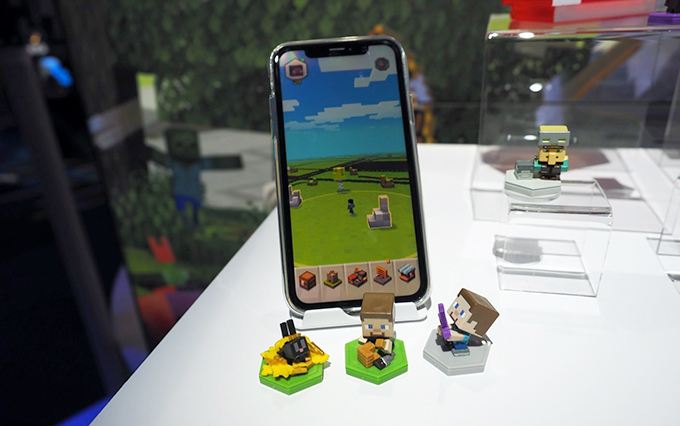 效仿任天堂Amiibo?《Minecraft》推出支持NFC联动的周边玩具