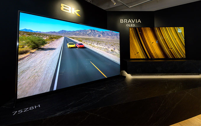索尼2020年春季新款电视抢先登陆中国 Z8H开启预售