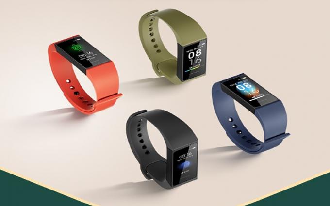 方形彩屏设计 Redmi手环正式亮相