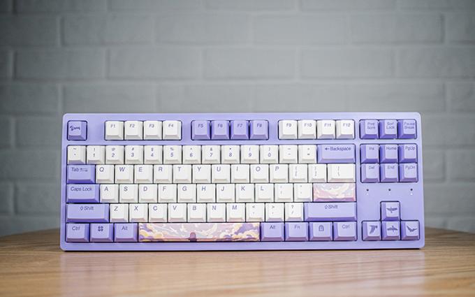达尔优A87梦遇主题键盘正式上市销售 唯美手绘画风呈现浪漫体验