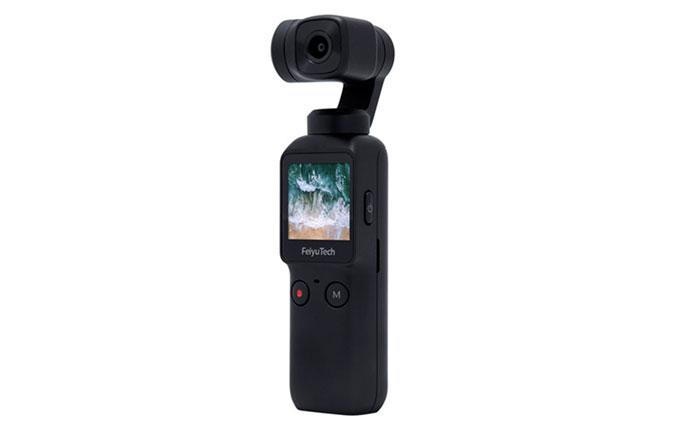 买不起大疆Osmo Pocket 你可以买飞宇Pocket相机