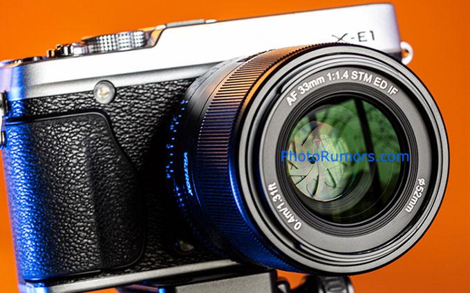 唯卓仕本月发售AF 33mm f/1.4 富士用户廉价大光圈镜头在望