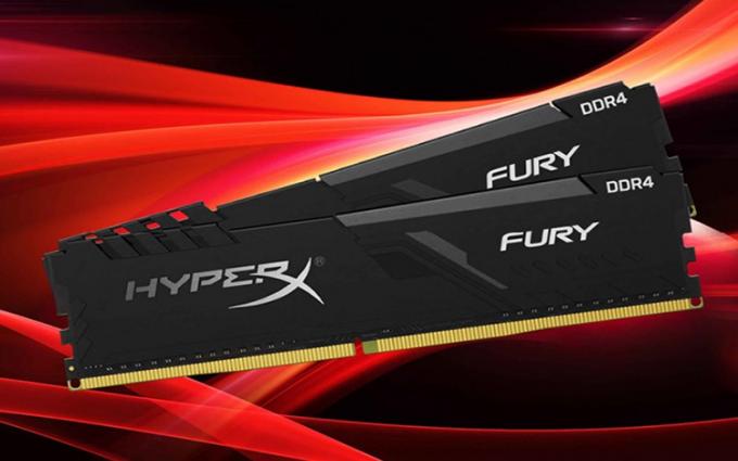 守望先锋联赛官方合作内存 HyperX FURY DDR4
