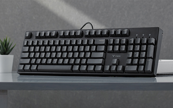 104键Cherry轴仅售269元 雷柏V860机械键盘开启预售