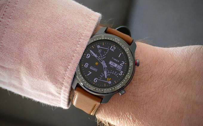 TIMEX与华米Amazfit合作款智能手表曝光